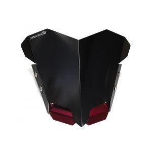 ชิวหน้าอลูมิเนียม AEROX -Red