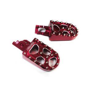 พักเท้าหน้า CNC CRF-250 L / CRF-250 RALLY -Red