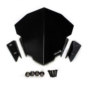ชิวหน้าอลูมิเนียม Wind Shield ( Aluminium ) MT-15